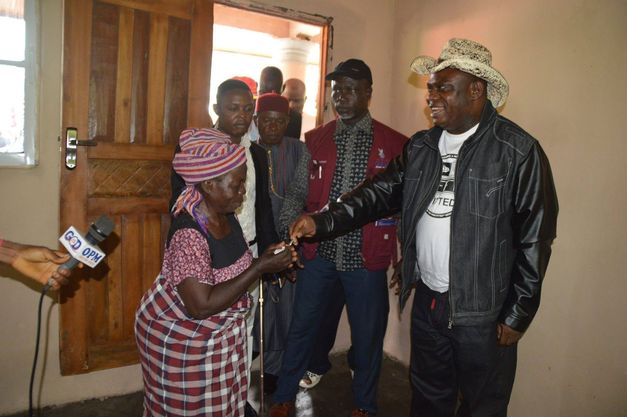 OPM Pastor gift free house to Widow without a child
