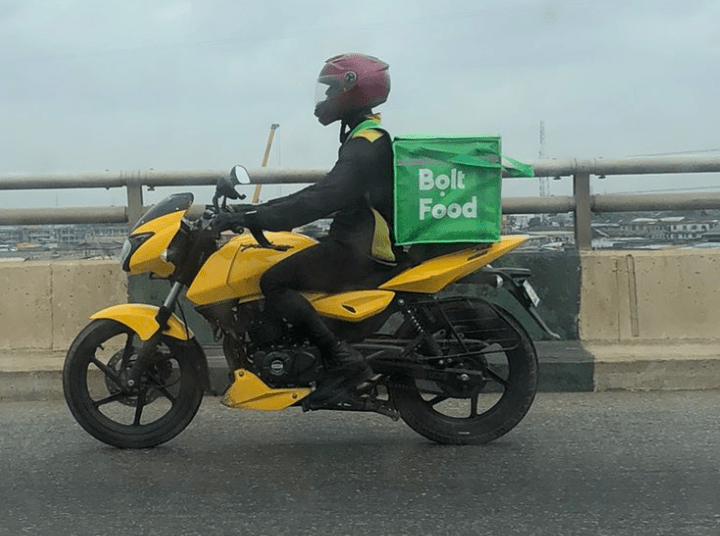 Bolt launches food delivery service in Nigeria