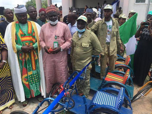 NYSC Member donates 40 wheelchairs to physically challenged