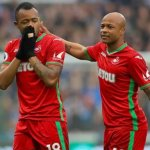 Swansea opt against appealing Jordan Ayew's red card