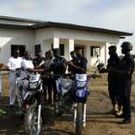 Tema Community 25 residents donate motorbikes, phones to police to improve security