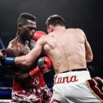 Ghana's Commey knocks out Luna in IBF eliminator