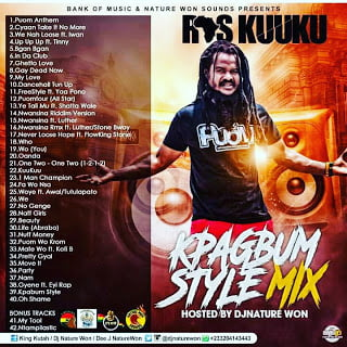 DJ NATURE WON - RAS KUUKU (Kpagbum Style Mix])