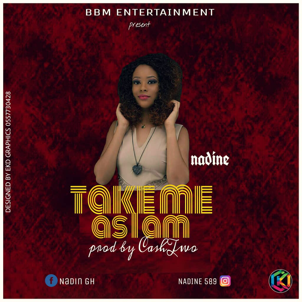 "Nadine Readies To Drop A New Banger ""#Take Me As I Am"""