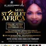 Vote For Your Favorite Contestant To Be Crowned The Winner For Miss Starlet Africa