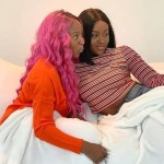 Kemi Olunloyo alleges Chioma to be a lesbian after Chioma was seen in bed with DJ Cuppy