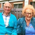 Breaking News: He's 100, she's about to turn 103, and they just got married