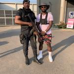 Danny Lampo Gets A Police Escort During His Visit In Ghana