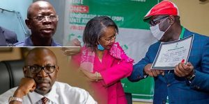 'The fight is over', Obaseki extends olive branch to Oshiomhole, Ize-Iyamu