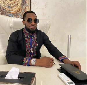 """""""My fave right now"""" – D'banj says as he dances to Davido's song, """"Fem"""""""