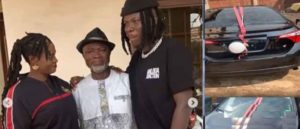 Mcbrown, Prince Bright and others applauds Stonebwoy for gifting veteran producer a car