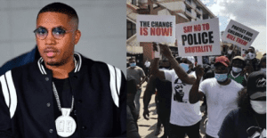 """Nigeria We're With You"" – American Rapper, Nas Reacts To #EndSARS Protests"