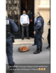 """Police shocked to find """"sacrifice"""" in front of the Nigerian embassy in France (Video)"""