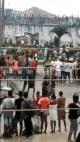 BREAKING: Benin prison under attack as thugs free prisoners (Videos)