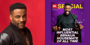 #BBNaija: Ebuka Named Most Influential Housemate Of All Time