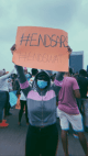 """It's the right thing to do"" – DJ Cuppy says as she finally steps out for #EndSARS protest"