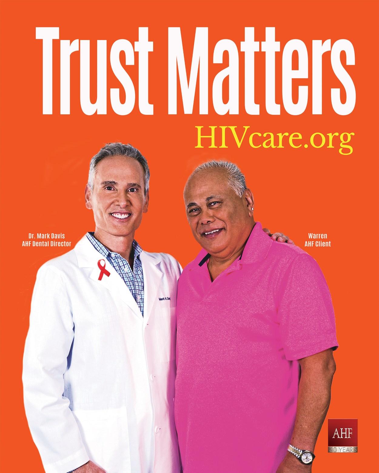 Trust Matters 24×30 Mark Davis
