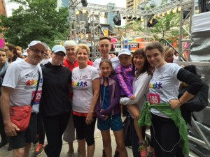 The Undetectables with Premier Kathleen Wynne at the Pride & Remembrance Run 2015