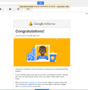 adsense approv email