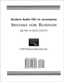 Student Audio CDs: Patricia Rush: 9780131103269: hive.co.uk