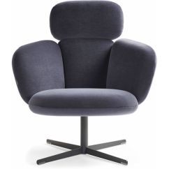 Swivel Lounge Chairs Office Desk Chair With Ottoman Bras Highback Base Hivemodern Com