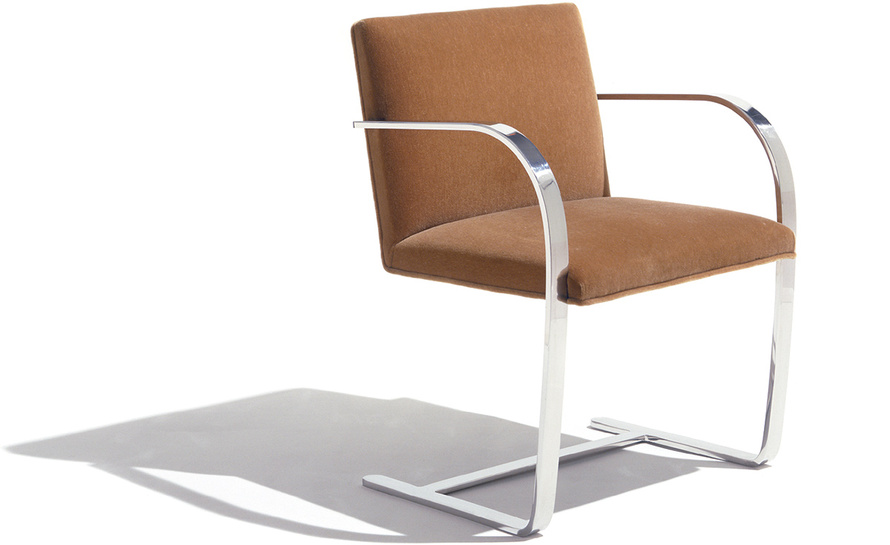 Brno Chair With Flat Bar Frame  hivemoderncom