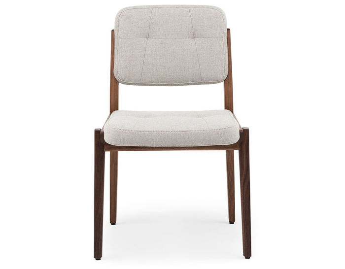 oak and white dining chairs gray folding chair covers capo 780 hivemodern com