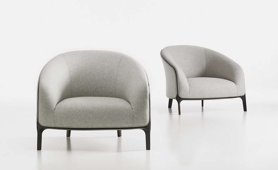vitra lounge chair ellis executive catherine - hivemodern.com