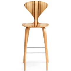 Wood Stool Chair Design La Z Boy Cool Cherner Leg Hivemodern Com