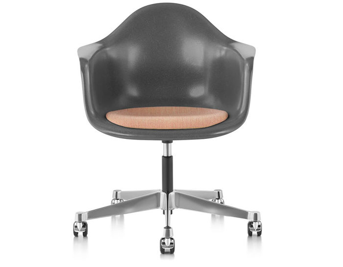 eames arm chair wedding cover hire hereford armchair with task base hivemodern com