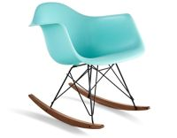 Eames Molded Plastic Armchair With Rocker Base ...