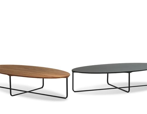 flint 140 oval coffee table