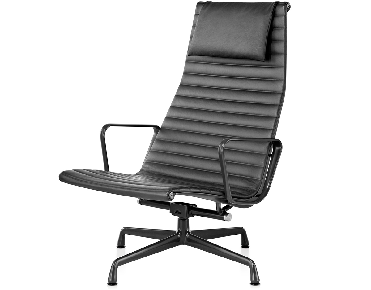 eames aluminum chair tablet arm chairs canada group lounge hivemodern