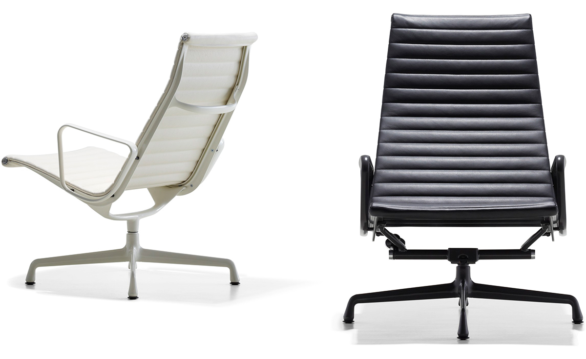 eames aluminum chair mesh mid back group lounge hivemodern com