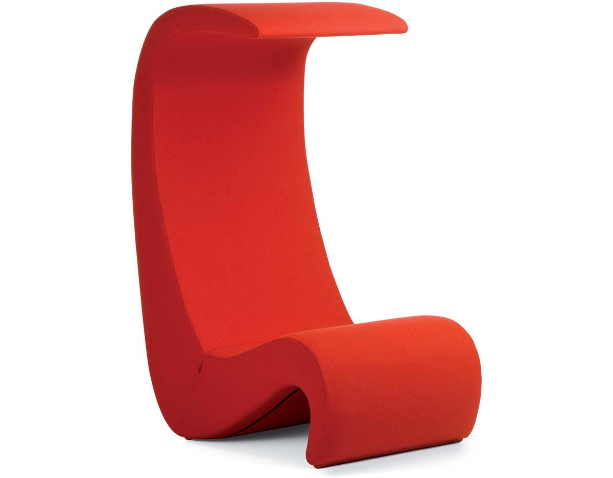 vernon panton chair lounge covers target amoebe highback hivemodern