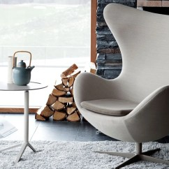 Jacobsen Egg Chair Leather Ikea Poang Weight Limit Arne Hivemodern Com