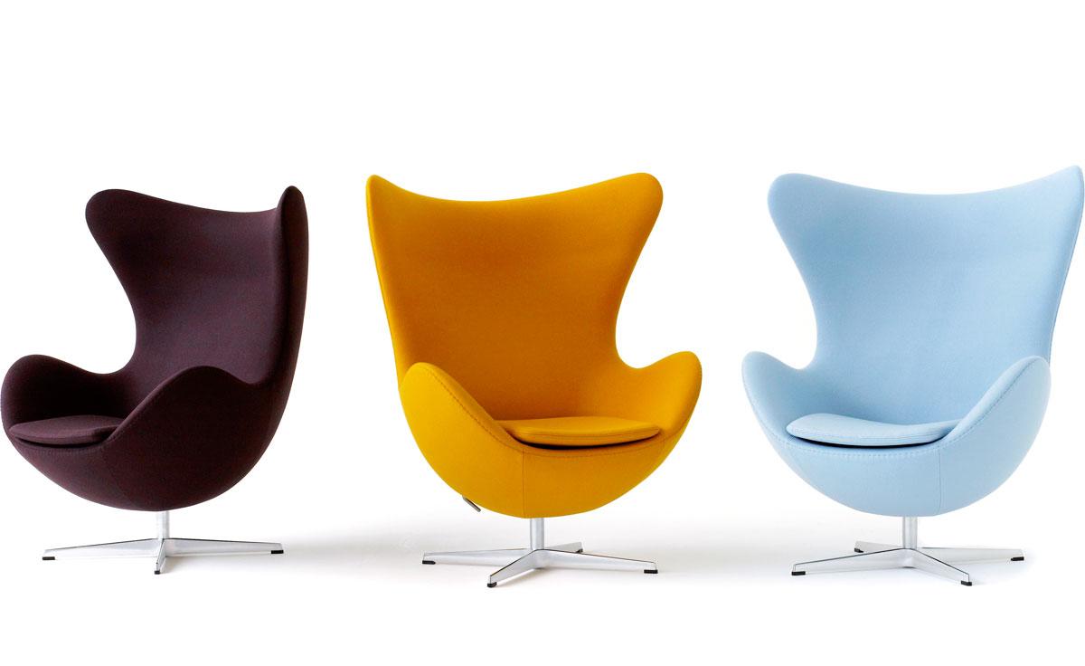 Arne Jacobsen Egg Chair  hivemoderncom