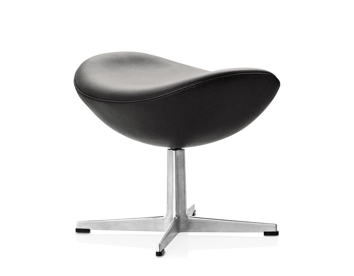 Arne Jacobsen Egg Ottoman  hivemoderncom