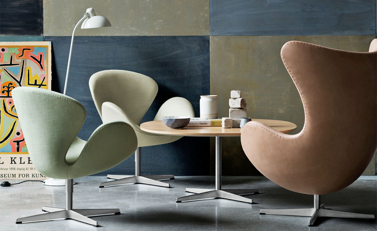 Arne Jacobsen Swan Chair  hivemoderncom