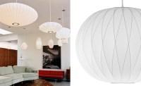 Nelson Bubble Lamp Crisscross Ball - hivemodern.com