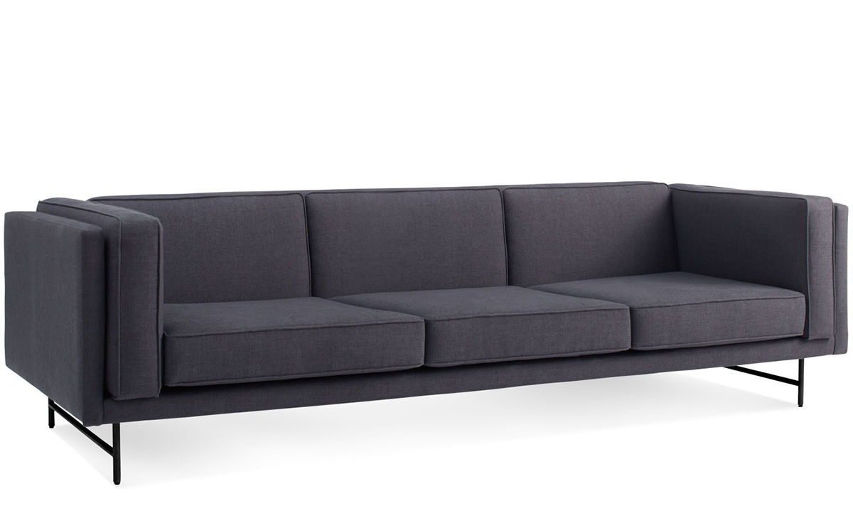 cisco brothers sofa reviews sealy leather bed 96 modern inch bench seat club furniture ...