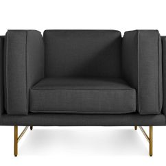 Blu Dot Bank Sofa Rattan Garden Corner Uk Lounge Chair Hivemodern