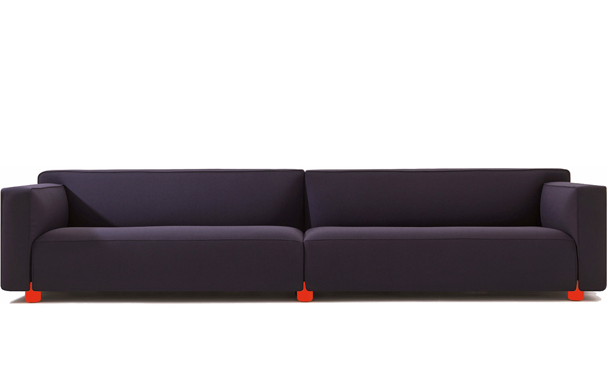Barber Osgerby Fourseat Sofa  hivemoderncom