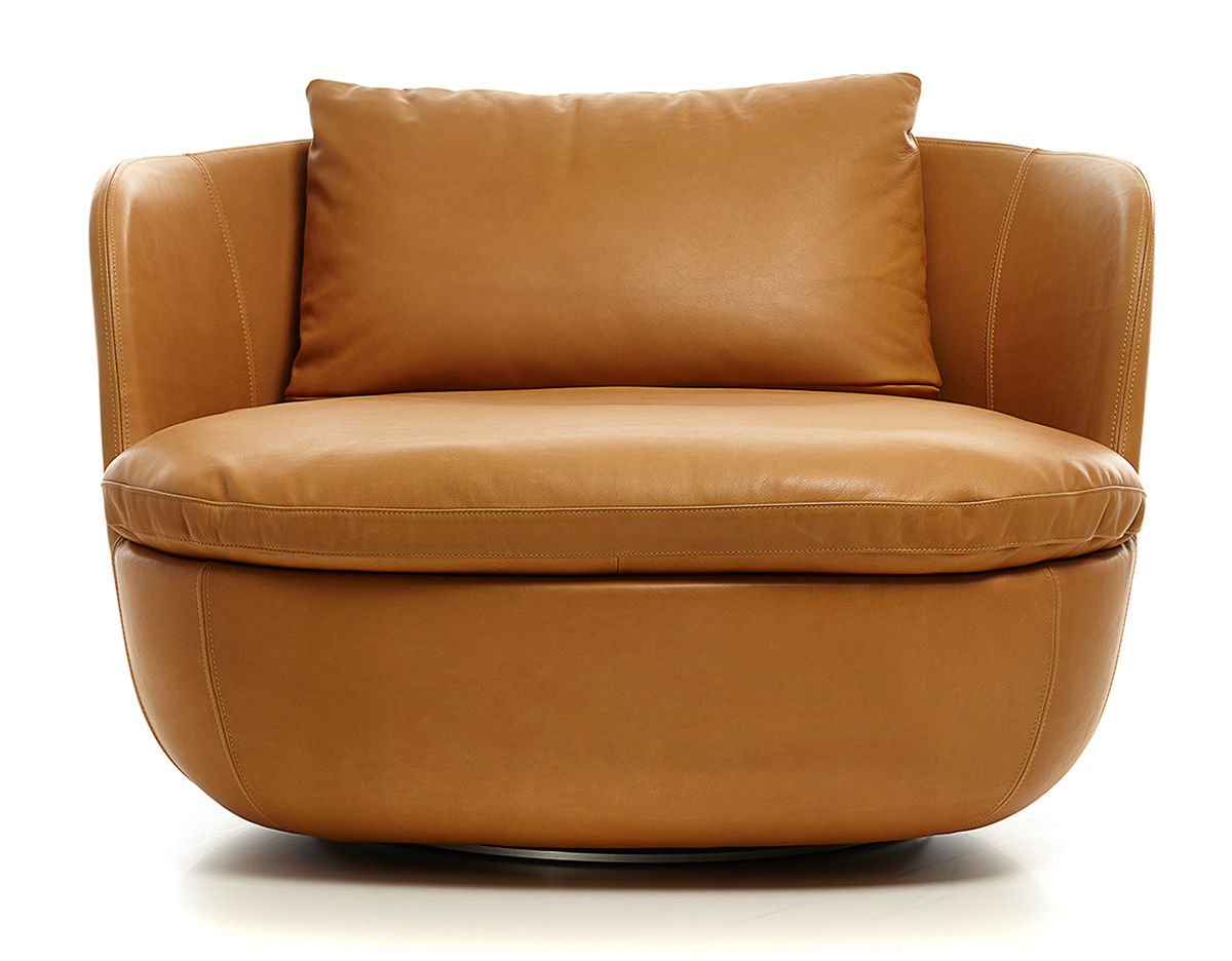 Round Swivel Lounge Chair