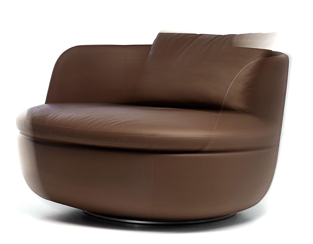 Round Swivel Lounge Chair