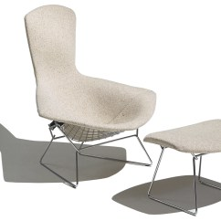 Knoll Bertoia Chair Anti Gravity Table Bird And Ottoman Hivemodern