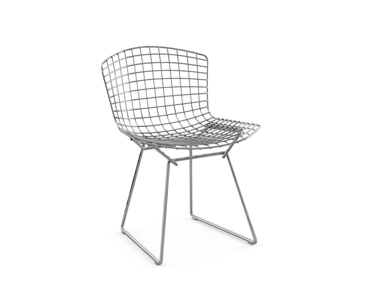 Bertoia Chairs Bertoia Side Chair Unupholstered Hivemodern