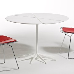 Cafe Chairs Metal Ikea Tub Chair Covers Ebay Bertoia Side With Seat Cushion - Hivemodern.com