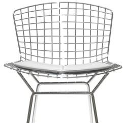 Knoll Bertoia Chair Cushions Wheelchair Lock Stool With Seat Cushion Hivemodern