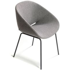 Metal Armchair Antique Chair Cushions Beso 4 Leg Hivemodern Com